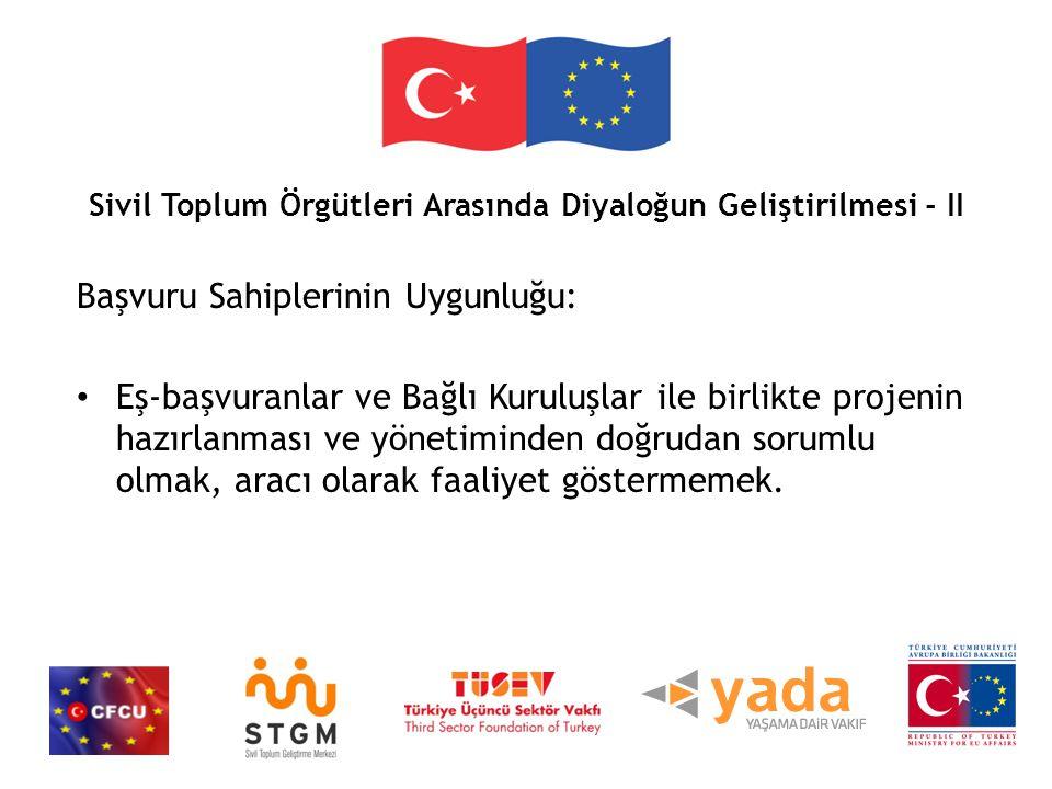 Sivil Toplum Örgütleri Arasında Diyaloğun Geliştirilmesi - II