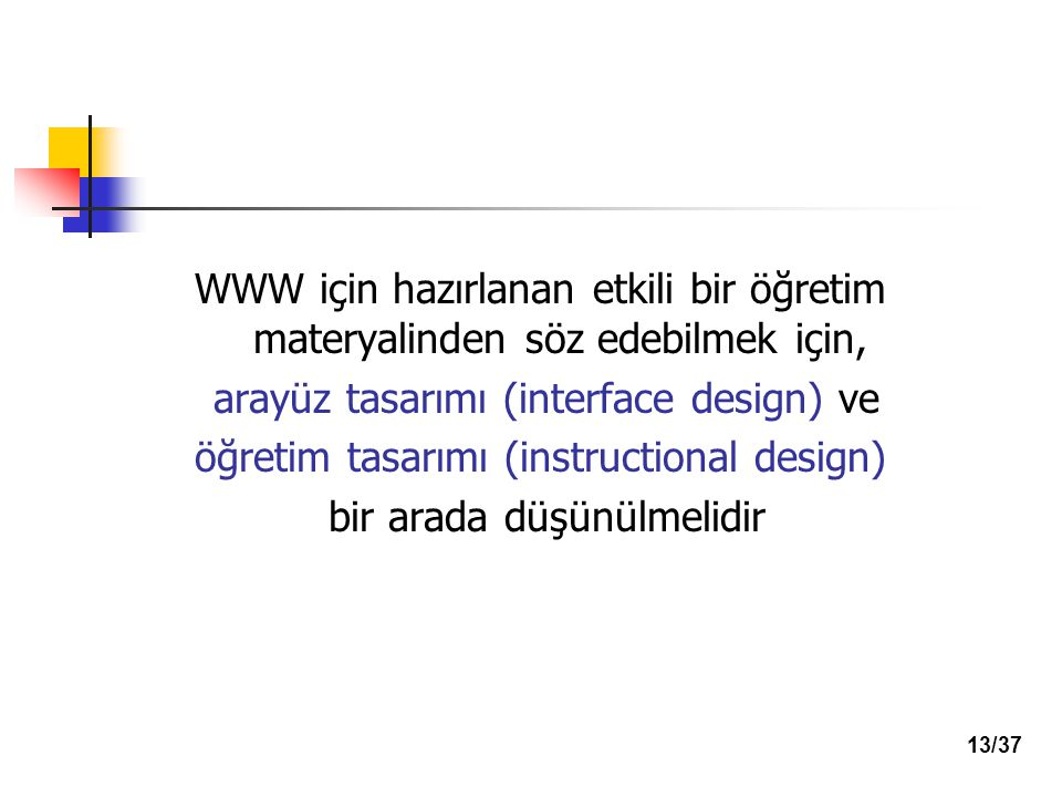 arayüz tasarımı (interface design) ve