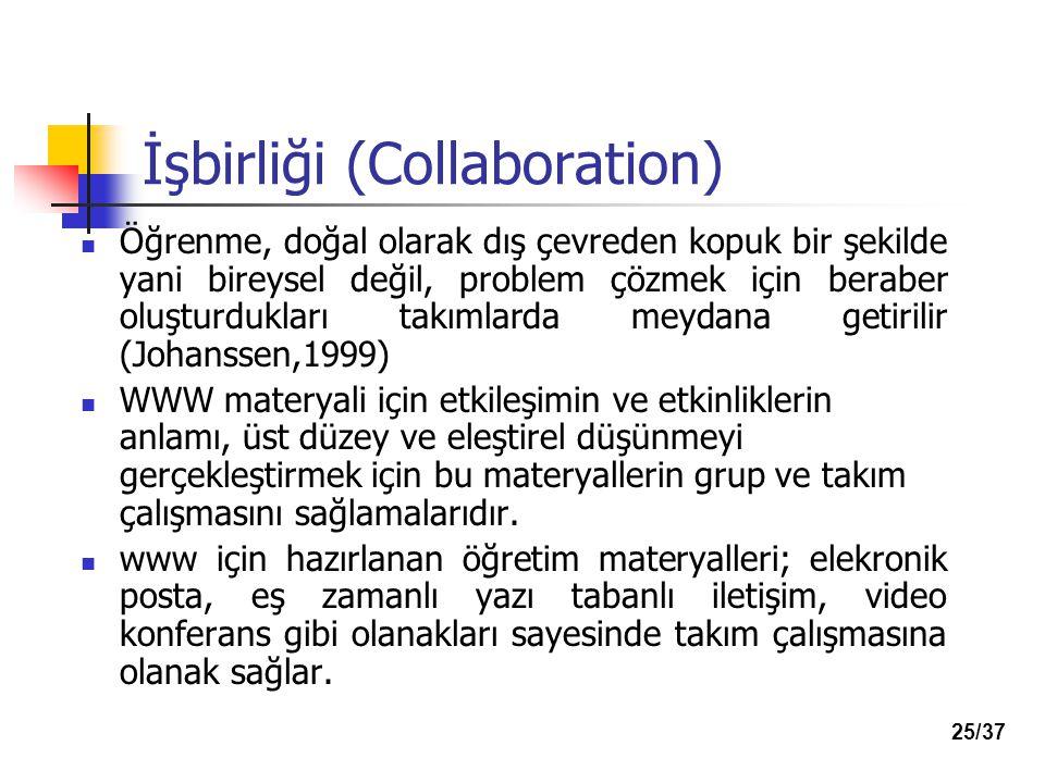 İşbirliği (Collaboration)