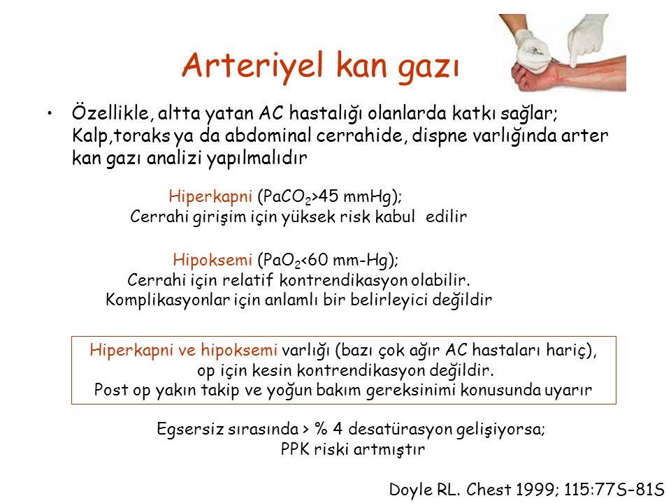 Arteriyel kan gazı