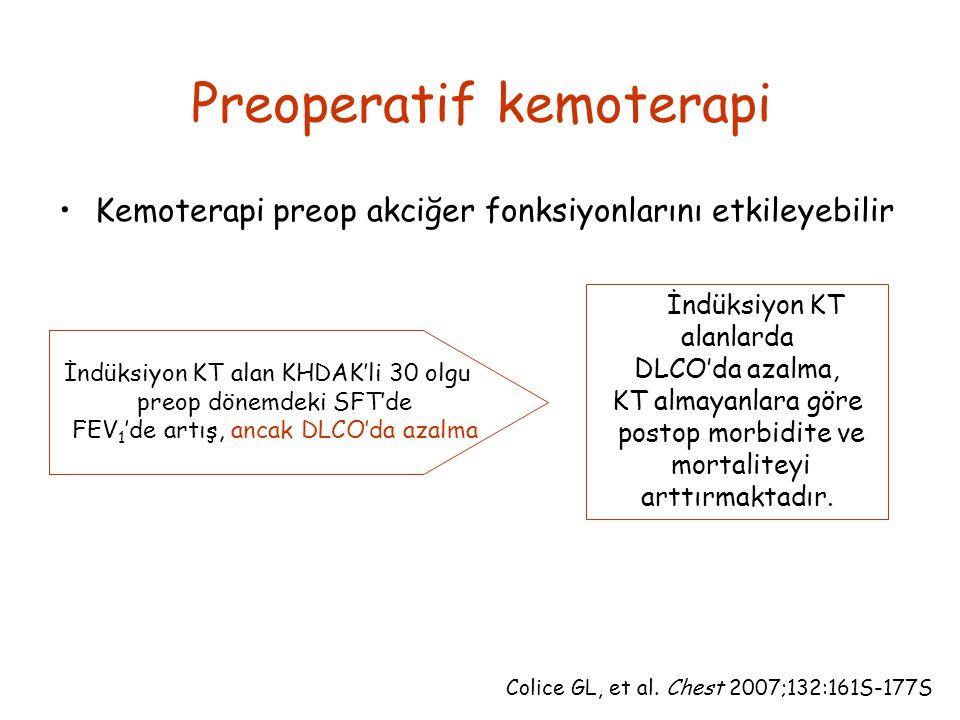 Preoperatif kemoterapi