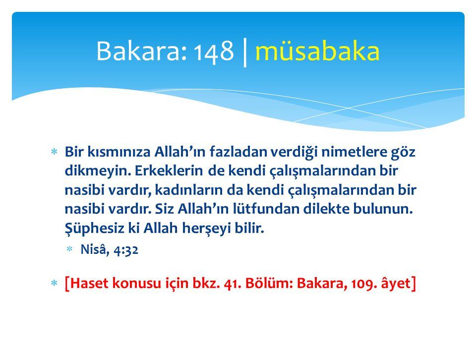 Bakara: 148 | müsabaka