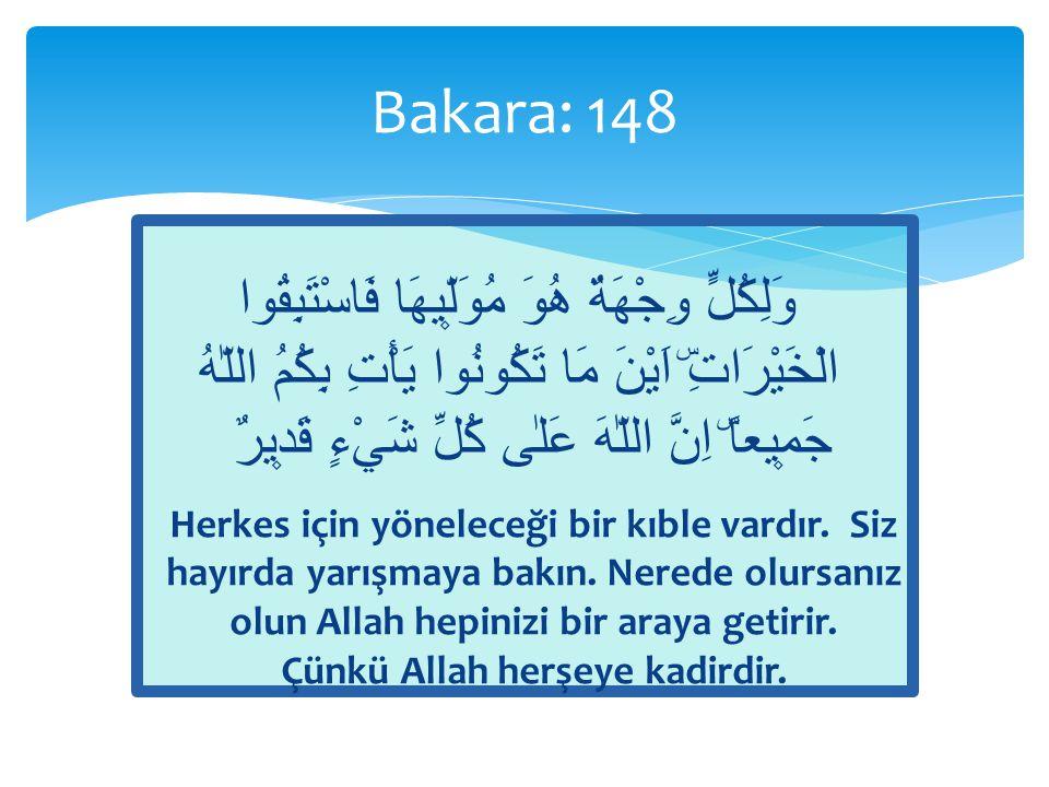 Bakara: 148