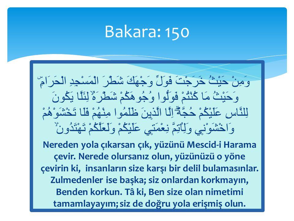 Bakara: 150