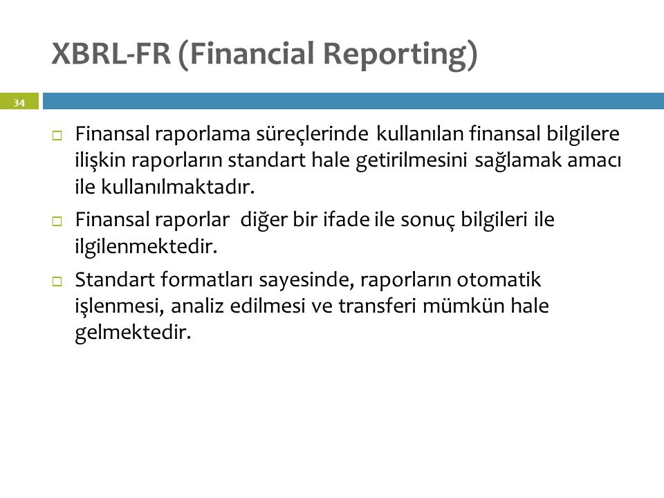 XBRL-FR (Financial Reporting)