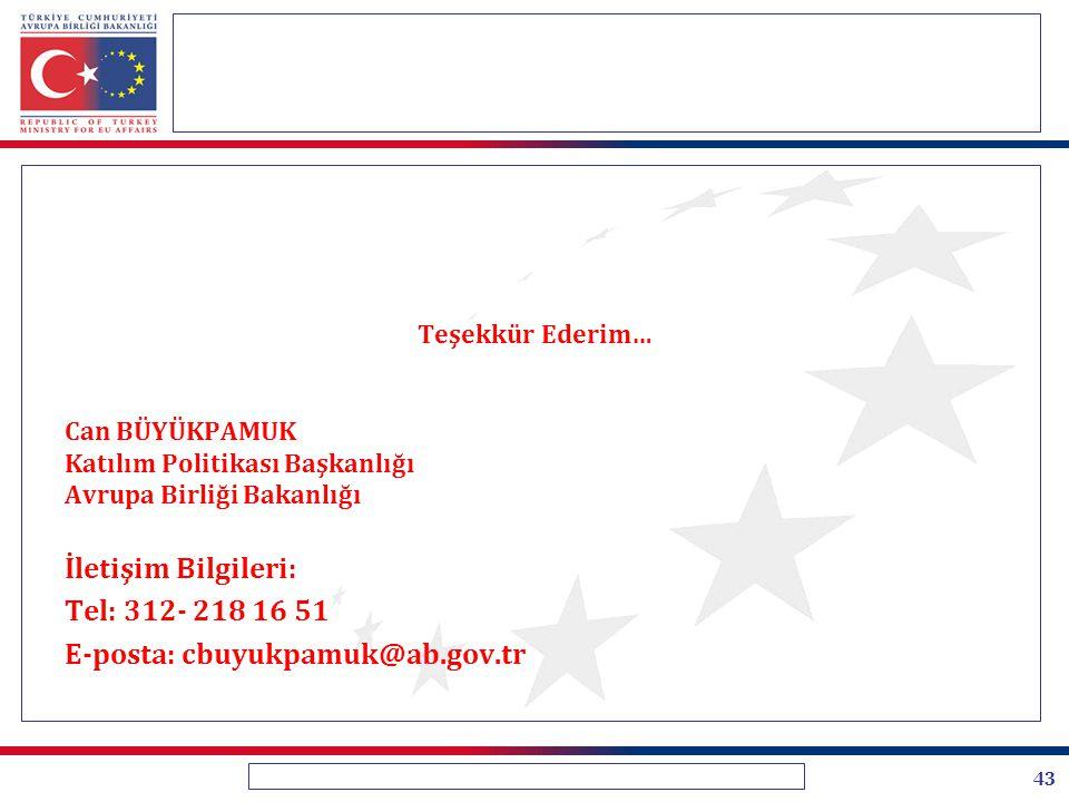 E-posta: cbuyukpamuk@ab.gov.tr