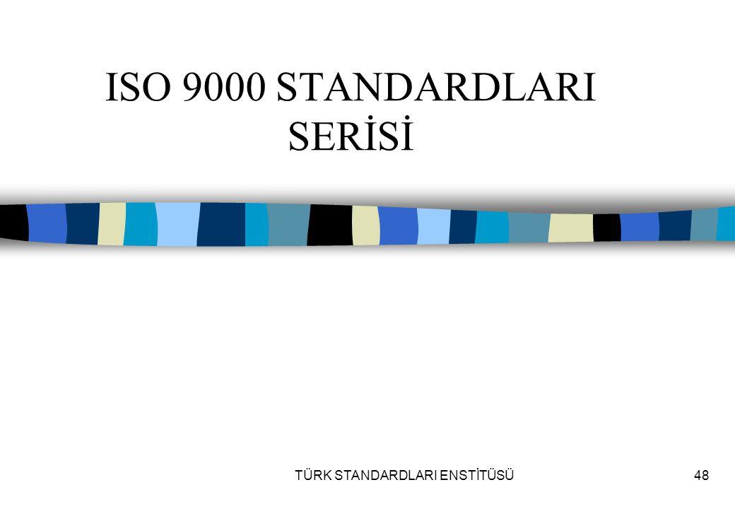 ISO 9000 STANDARDLARI SERİSİ