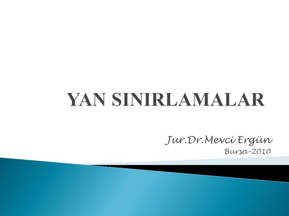 Jur.Dr.Mevci Ergün Bursa-2010