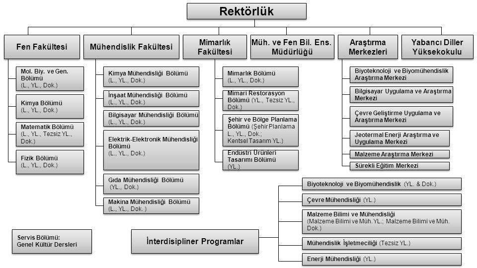 Mühendislik Fakültesi İnterdisipliner Programlar