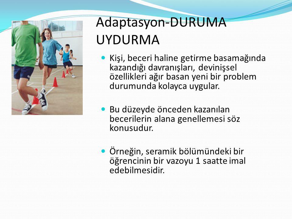 Adaptasyon-DURUMA UYDURMA