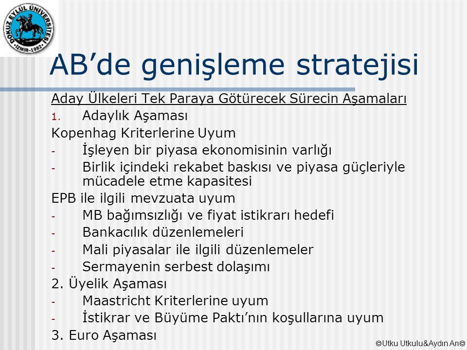 AB'de genişleme stratejisi