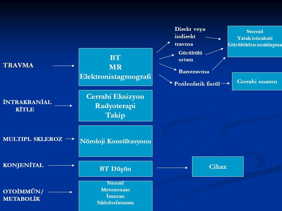 Elektronistagmografi Nöroloji Konsültasyonu