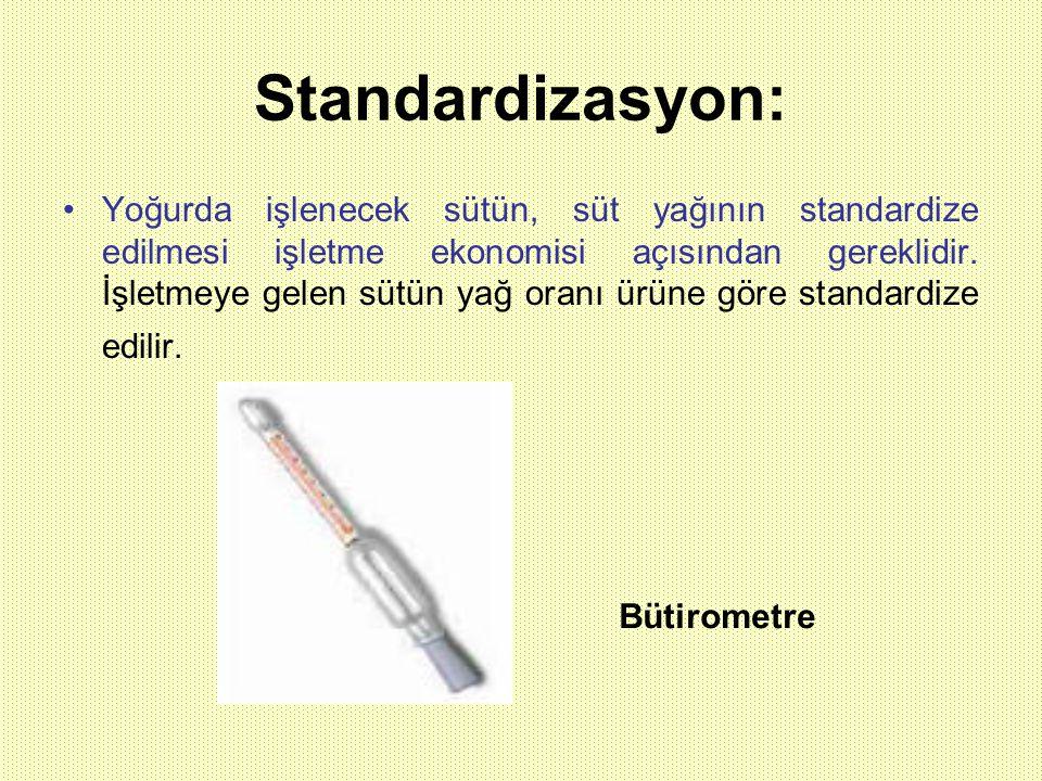Standardizasyon: