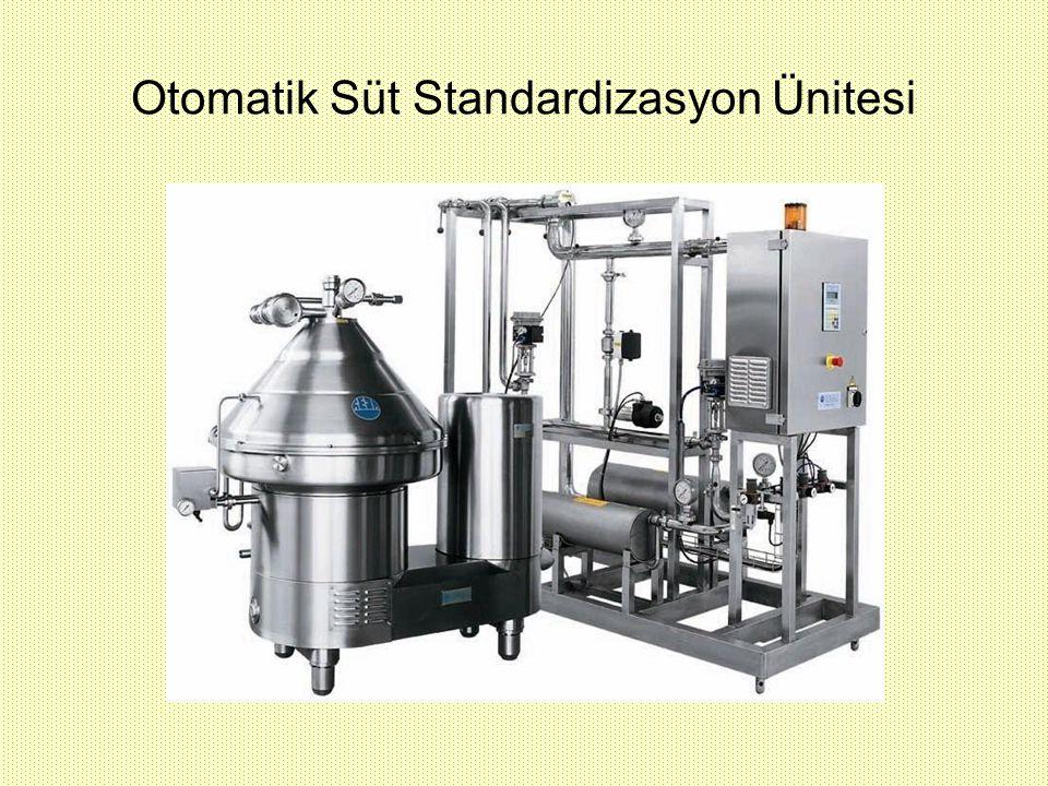 Otomatik Süt Standardizasyon Ünitesi