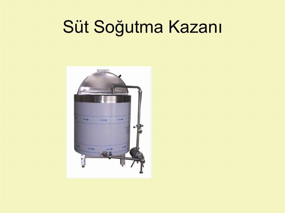 Süt Soğutma Kazanı