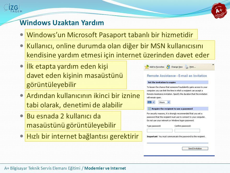 Windows Uzaktan Yardım