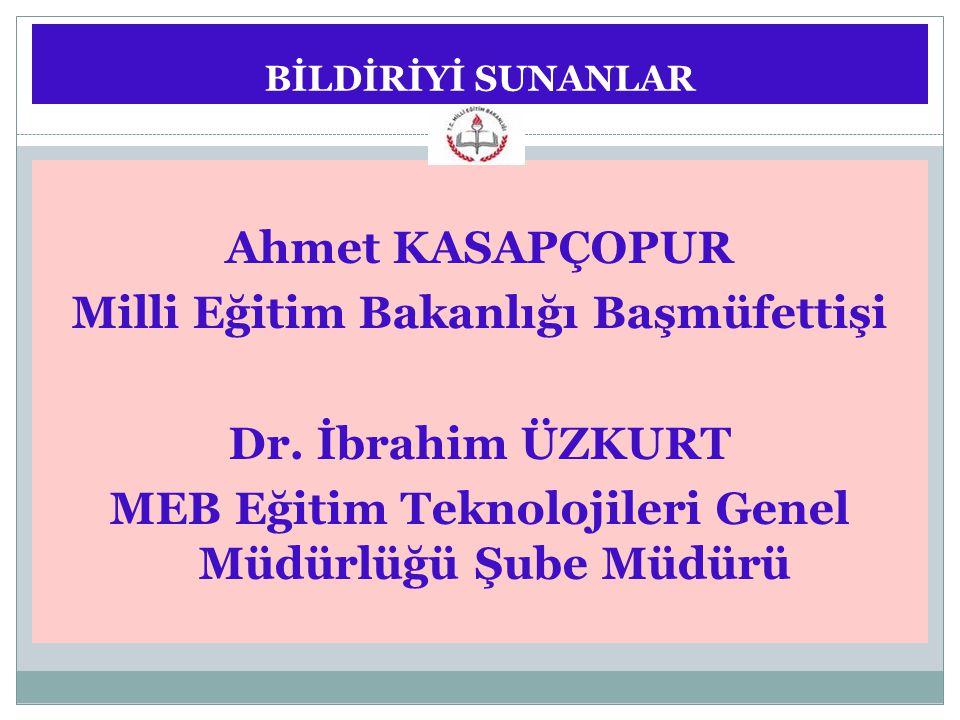 Milli Eğitim Bakanlığı Başmüfettişi Dr. İbrahim ÜZKURT
