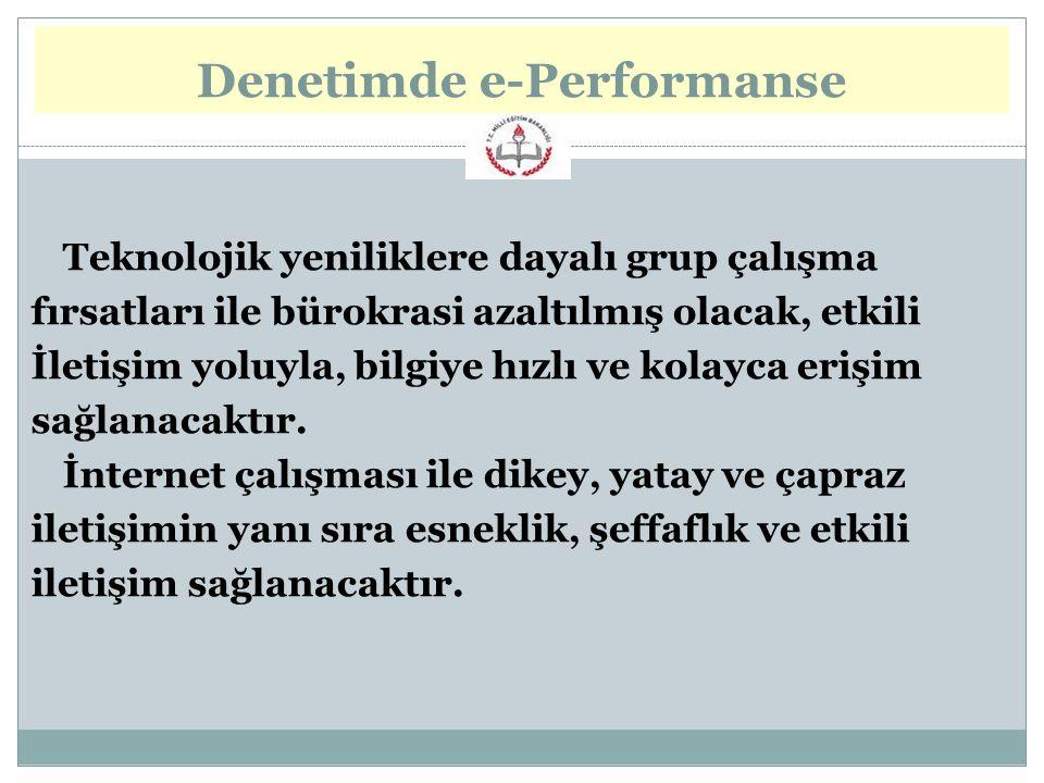 Denetimde e-Performanse