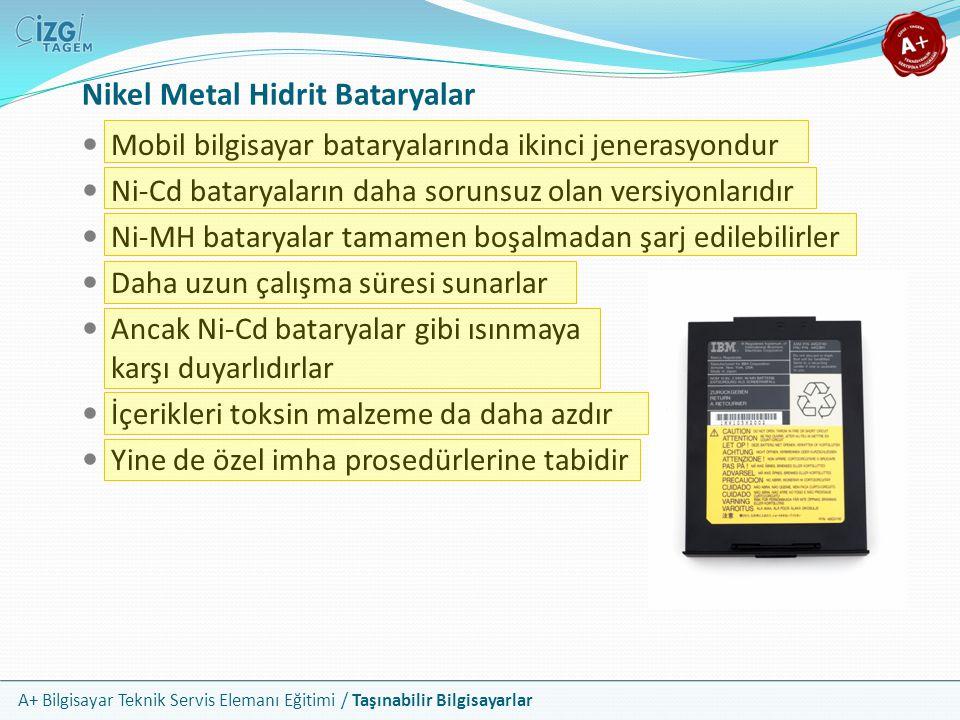 Nikel Metal Hidrit Bataryalar