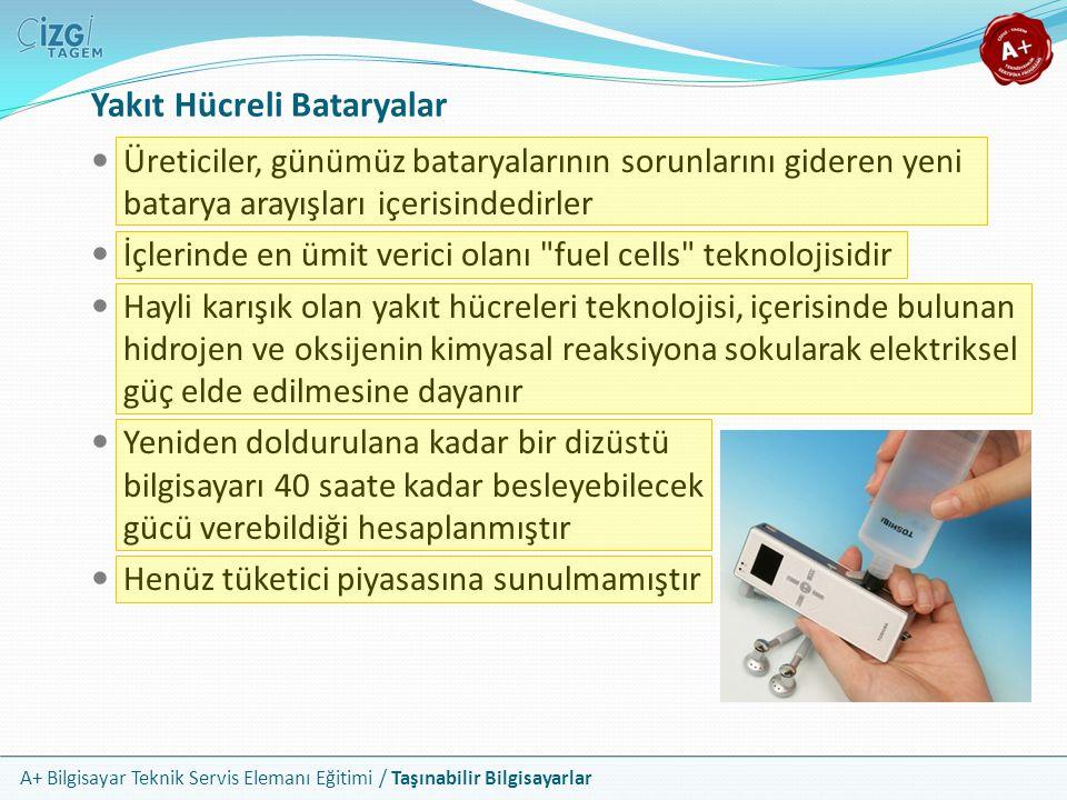 Yakıt Hücreli Bataryalar