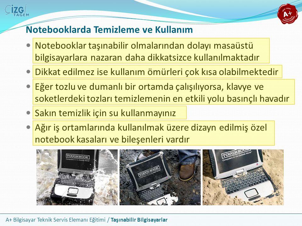 Notebooklarda Temizleme ve Kullanım