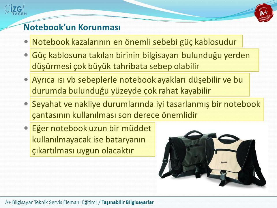Notebook'un Korunması