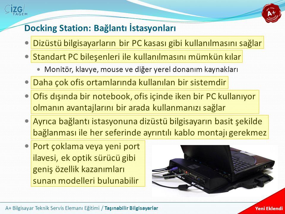 Docking Station: Bağlantı İstasyonları