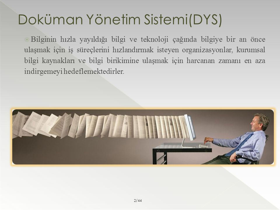 Doküman Yönetim Sistemi(DYS)