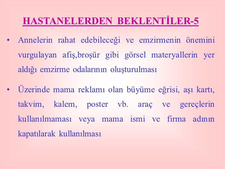HASTANELERDEN BEKLENTİLER-5
