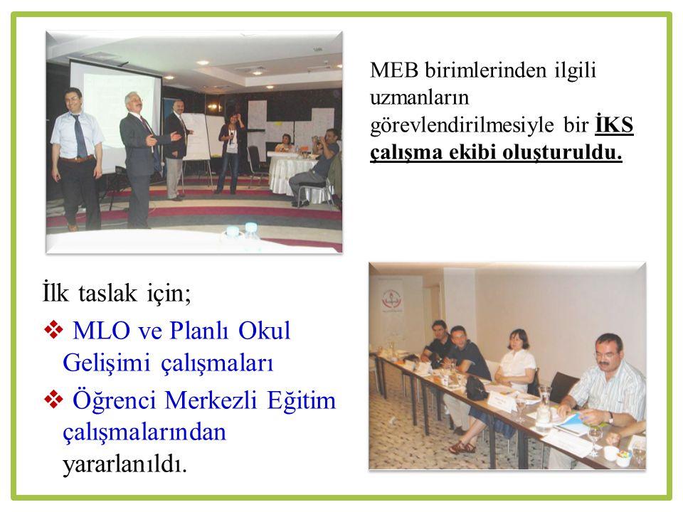  MLO ve Planlı Okul Gelişimi çalışmaları