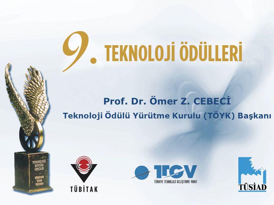 Teknoloji Ödülü Yürütme Kurulu (TÖYK) Başkanı