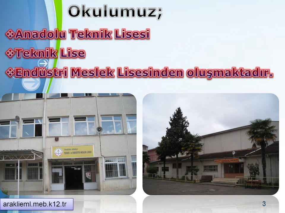 Okulumuz; Anadolu Teknik Lisesi Teknik Lise