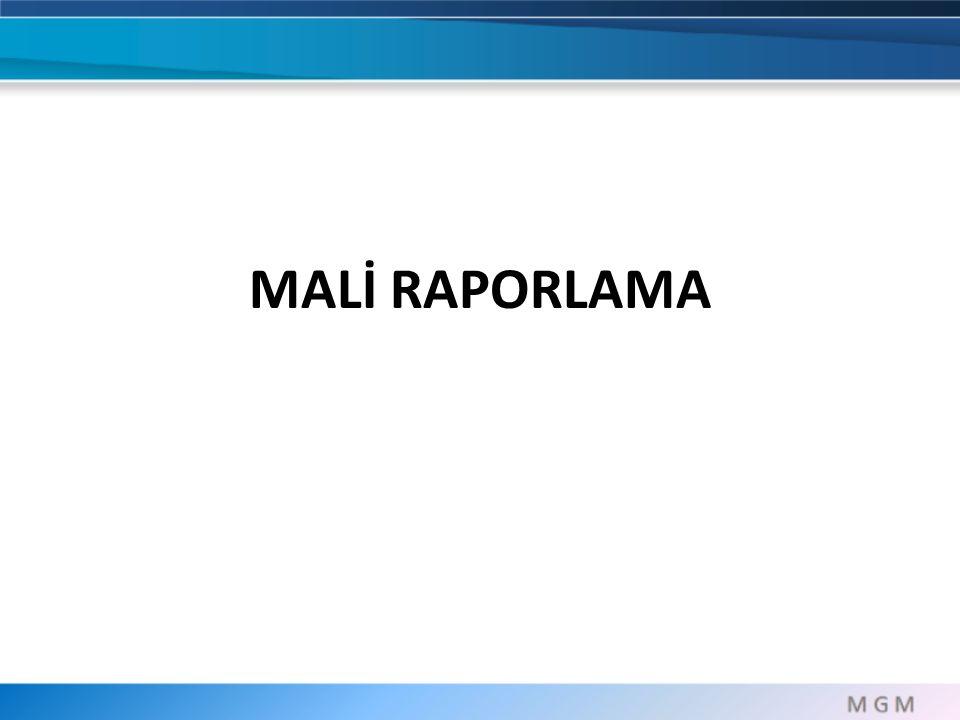 MALİ RAPORLAMA