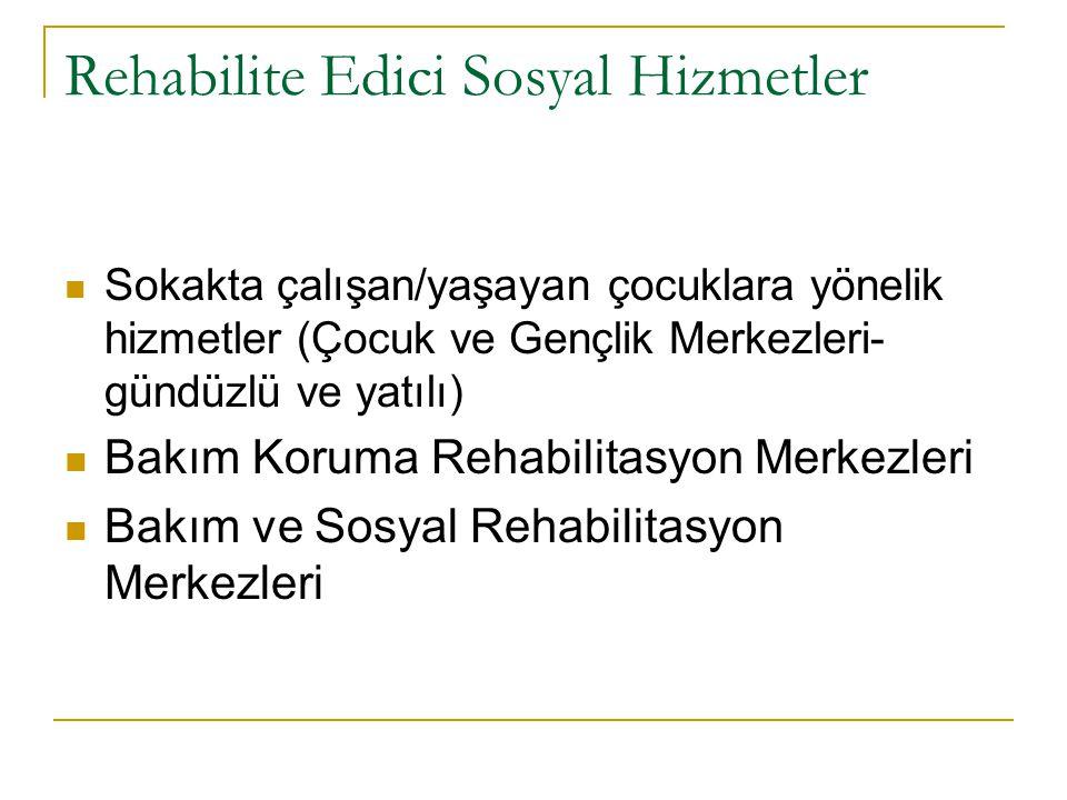 Rehabilite Edici Sosyal Hizmetler