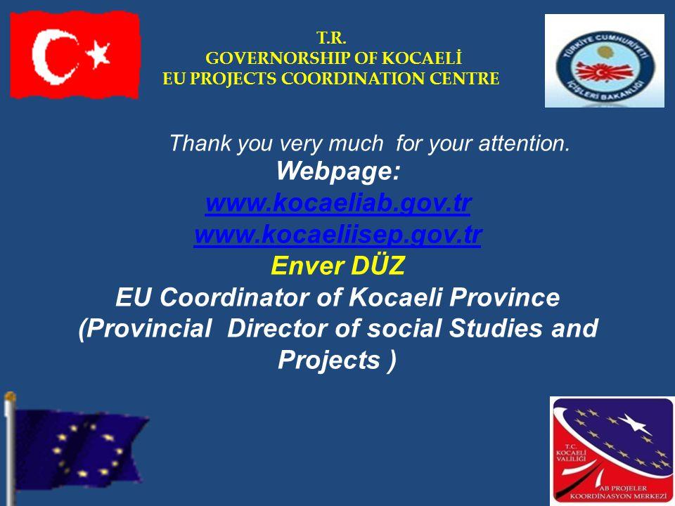 EU Coordinator of Kocaeli Province