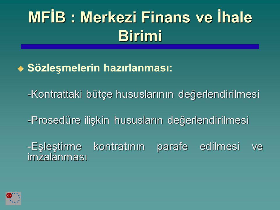 MFİB : Merkezi Finans ve İhale Birimi