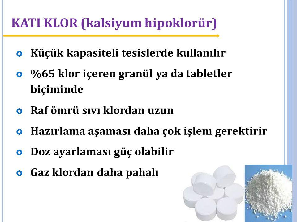 KATI KLOR (kalsiyum hipoklorür)