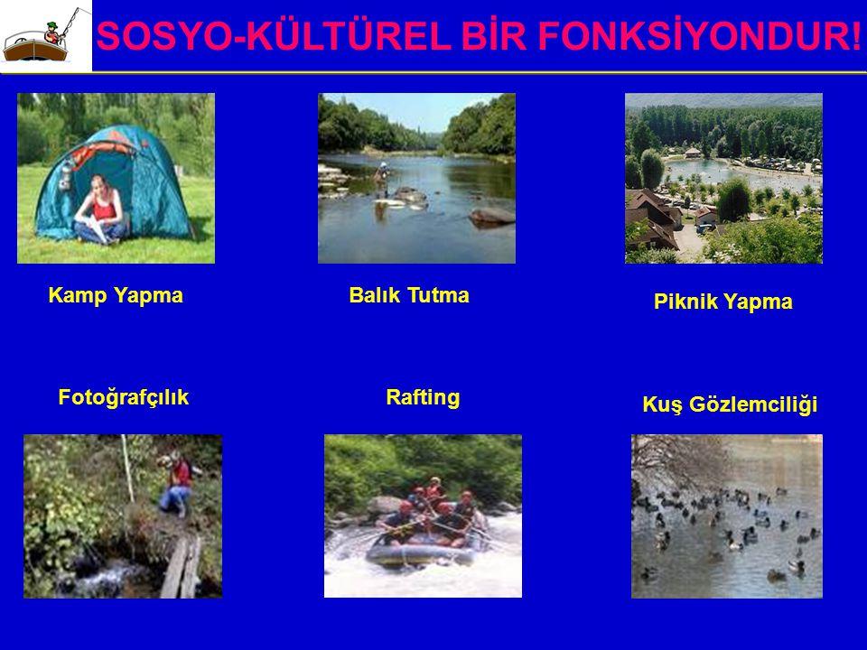 SOSYO-KÜLTÜREL BİR FONKSİYONDUR!