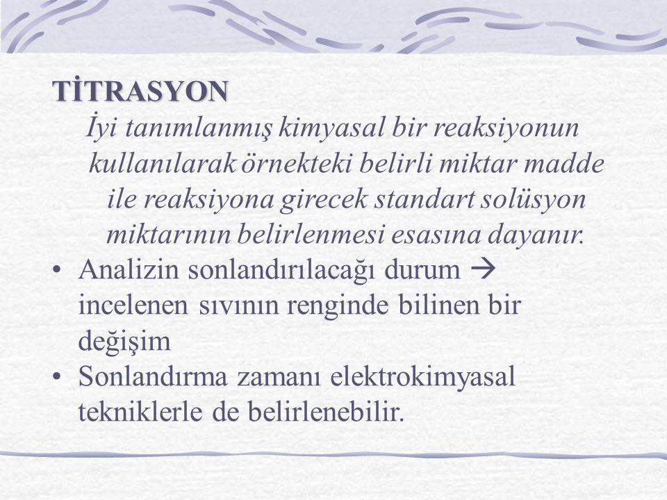 TİTRASYON