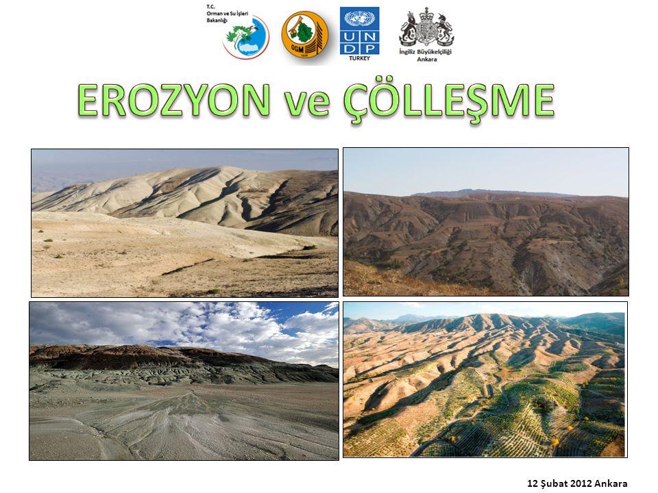 12 Şubat 2012 Ankara EROZYON ve ÇÖLLEŞME
