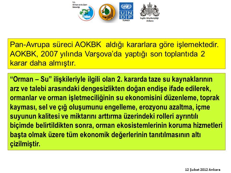 12 Şubat 2012 Ankara