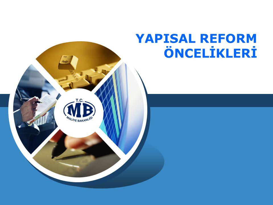 YAPISAL REFORM ÖNCELİKLERİ