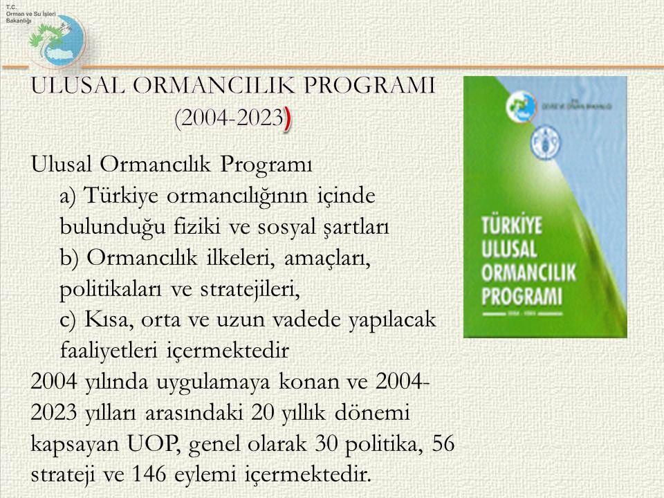 ULUSAL ORMANCILIK PROGRAMI (2004-2023)