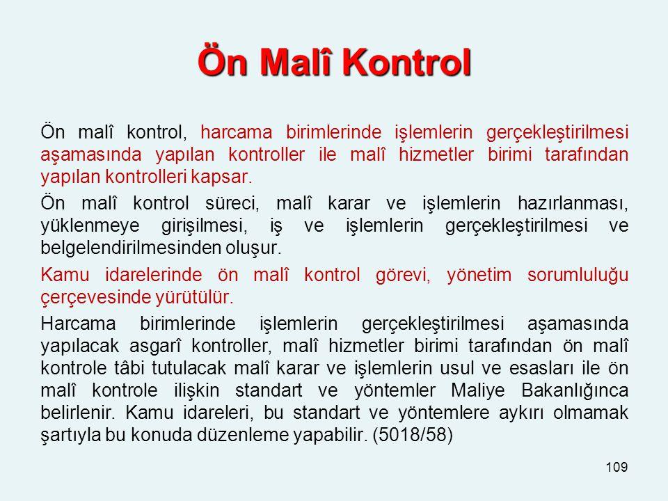 Ön Malî Kontrol