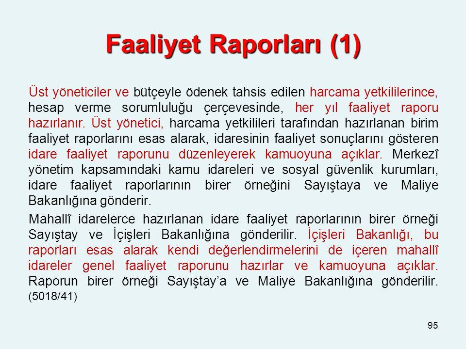 Faaliyet Raporları (1)