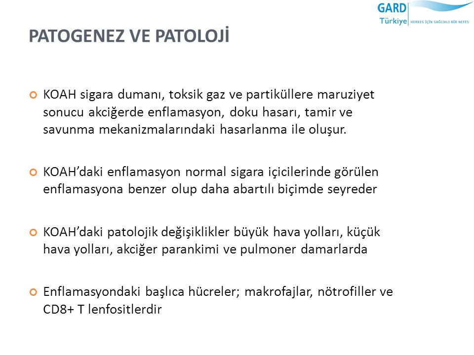 PATOGENEZ VE PATOLOJİ