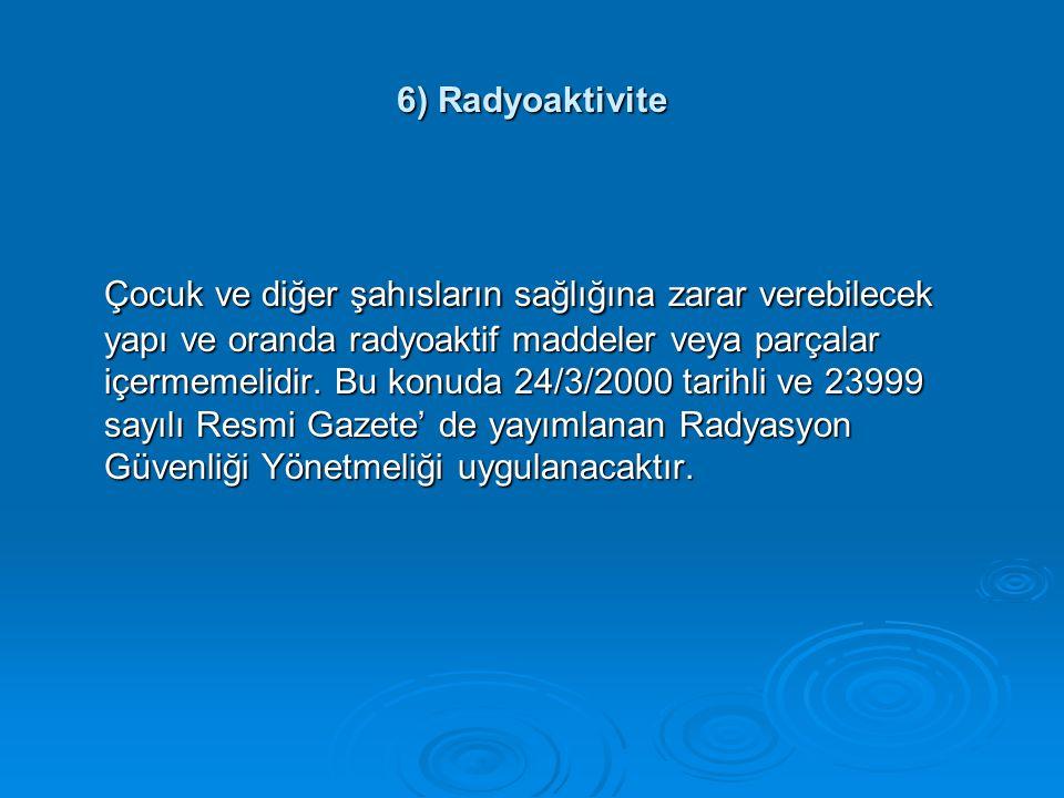 6) Radyoaktivite