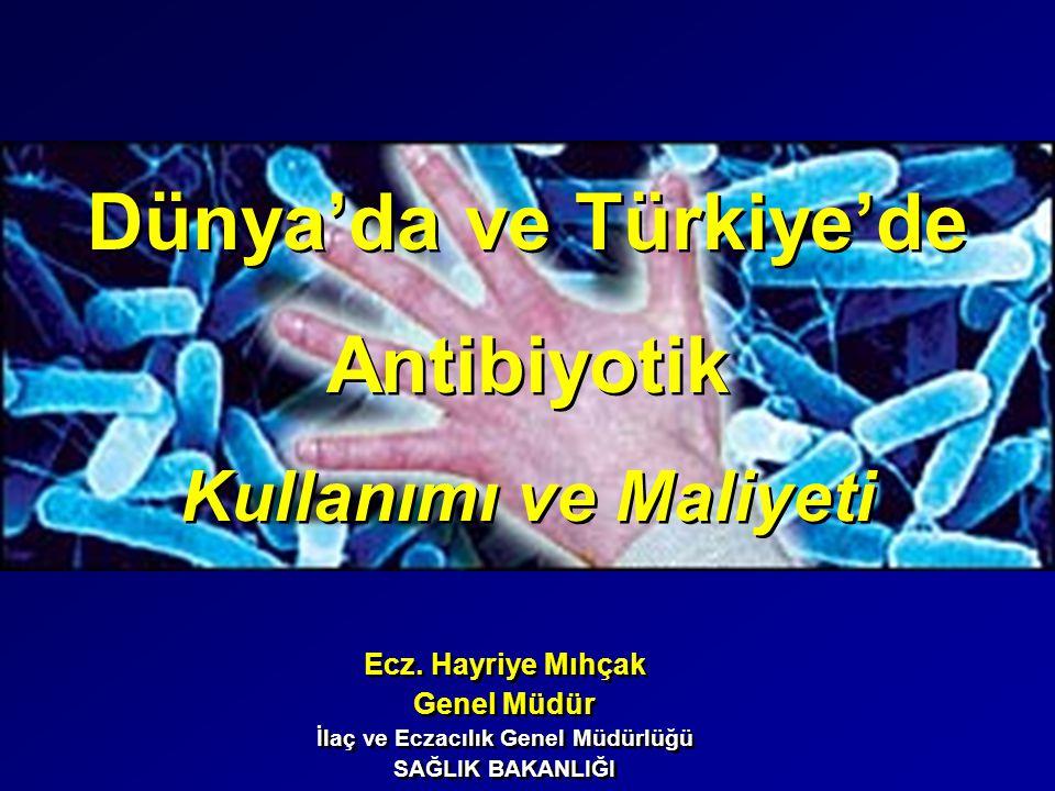 Dünya'da ve Türkiye'de İlaç ve Eczacılık Genel Müdürlüğü