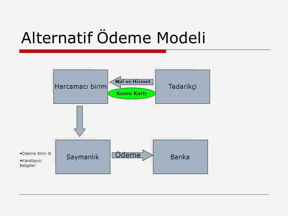 Alternatif Ödeme Modeli