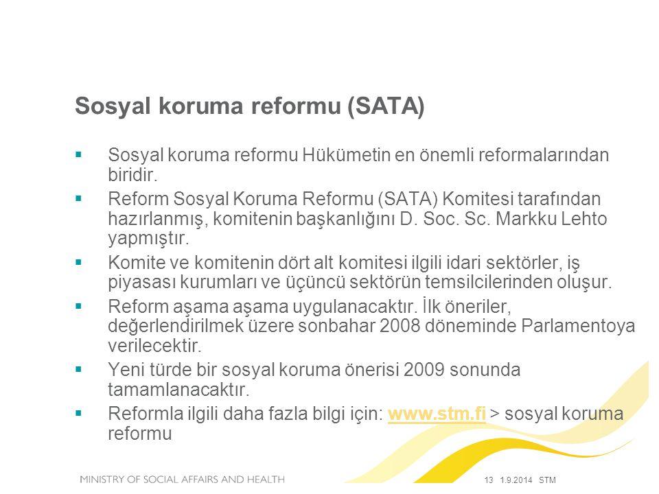 Sosyal koruma reformu (SATA)